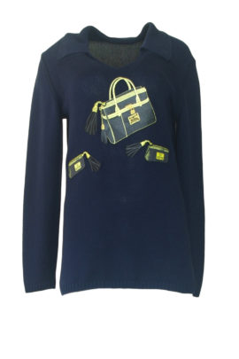 Pulli 100% Baumwolle mit Classik Bag Embroidery