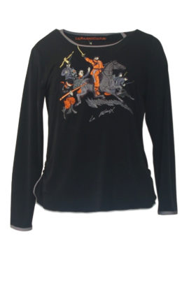 Shirt mit Cavalerie-embroidery LA