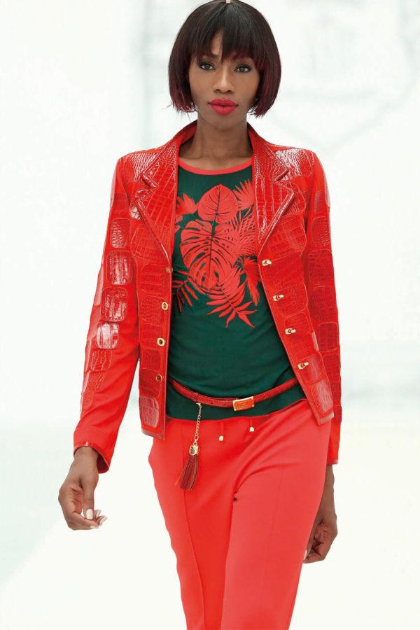 Shirt mit Amazonas-embroidery LA