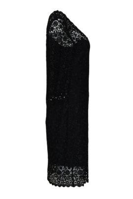 Kleid Spachtelspitze mit Perlen