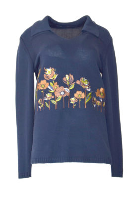 Pulli Autumn Meadow navy