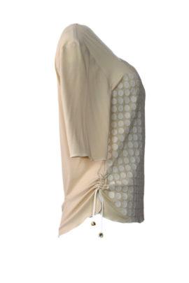 Shirt mit Tupfen embroidery