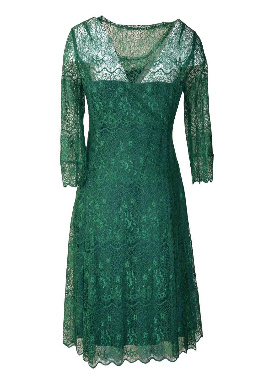 Kleid unterlegt
