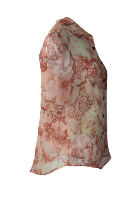 Bluse mit eingearbeitetem Top KA
