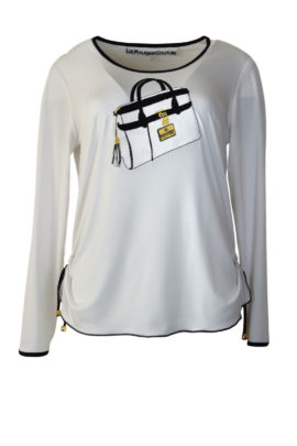 Shirt mit Classic-Bag embroidery