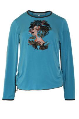 Shirt mit Calypso Model LA