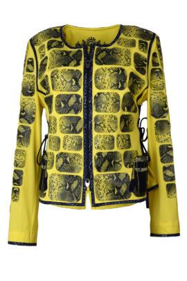 Jacke Cobraleder Classic Bag embroidery