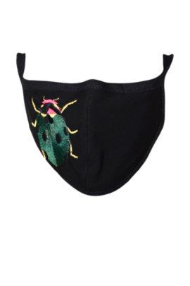 Schutzmaske mit ladybird embroidery