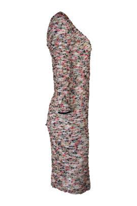 Kleid mit Jewel-embroidery, multicolor