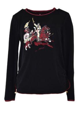 Shirt mit Cavalerie-embroidery, LA