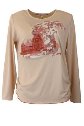 Shirt Gobelin, Jersey mit Gobelin-embroidery, LA