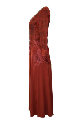 Maxikleid Anaconda, Amazonas Red