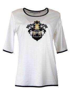 Couture-Shirt, LMD-Heraldik, Kurzarm