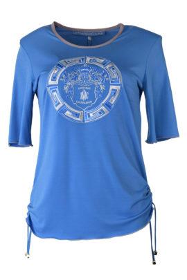 Shirt mit Classic-embroidery, KA
