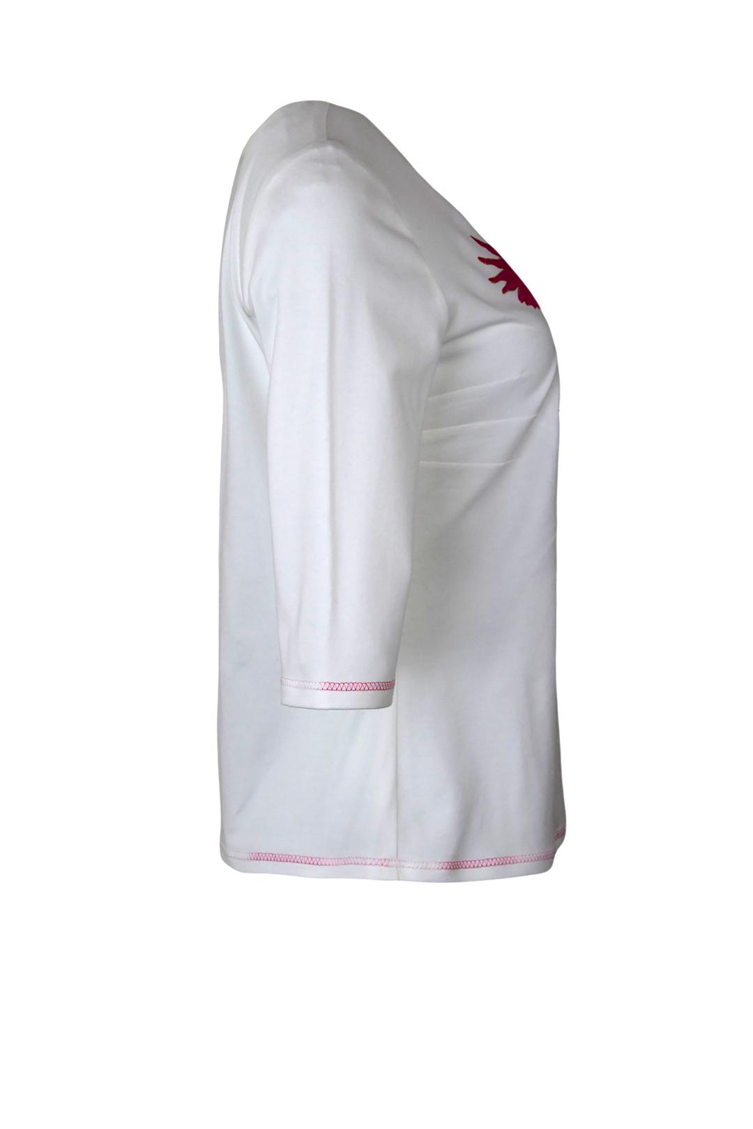 "Shirt mit ""eagle-embroidery"", Kurzarm"