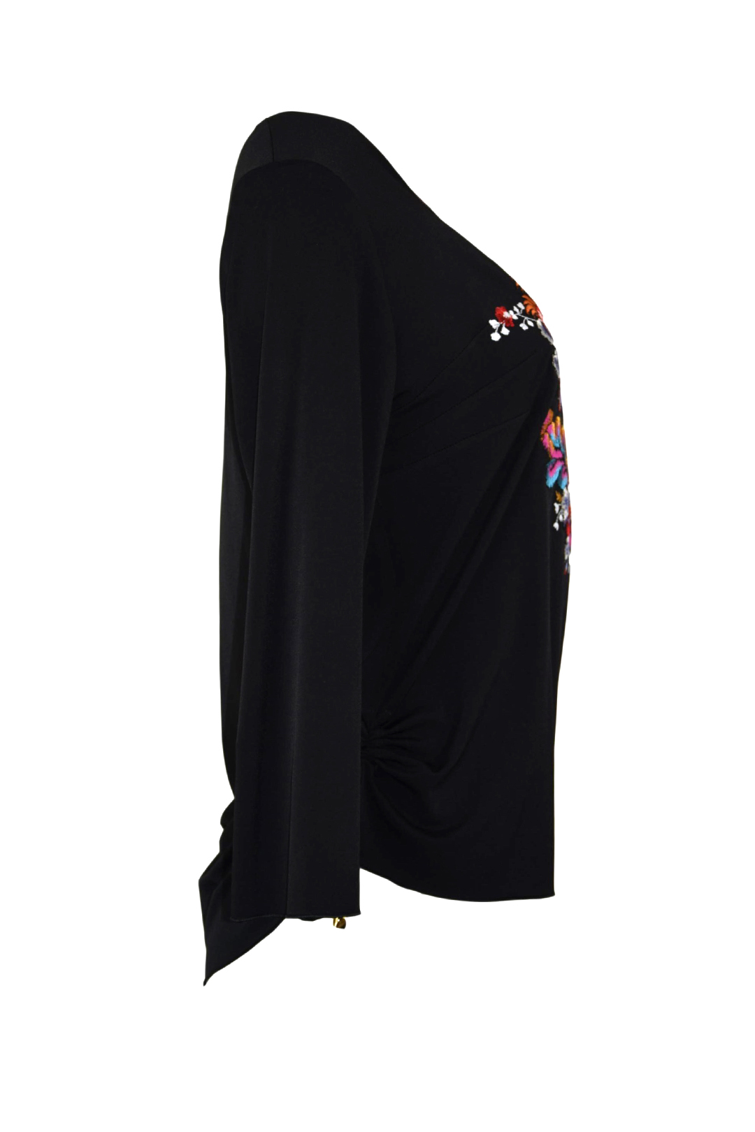 Shirt mit Maxi-Paisley embroidery, multicolor, stitches: 51.5000