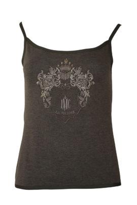 "Top ""savanna"" mit ""heraldik-embroidery"", Viskose"