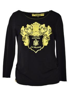 "Shirt mit ""maxi-heraldic-embroidery"", Langarm"