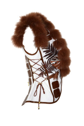 "Weste mit ""amazonas -embroidery"", multisize"