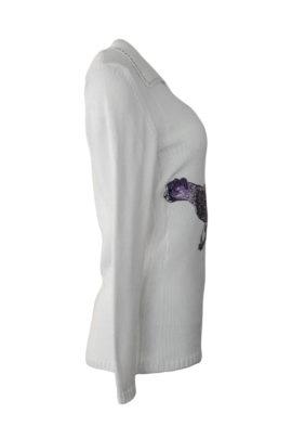 """Pulli mit """"gepard-embroidery"""", 100% Baumwolle"""