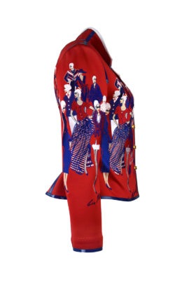 "Jacke mit ""fashion-embroidery"" 5 Motive"
