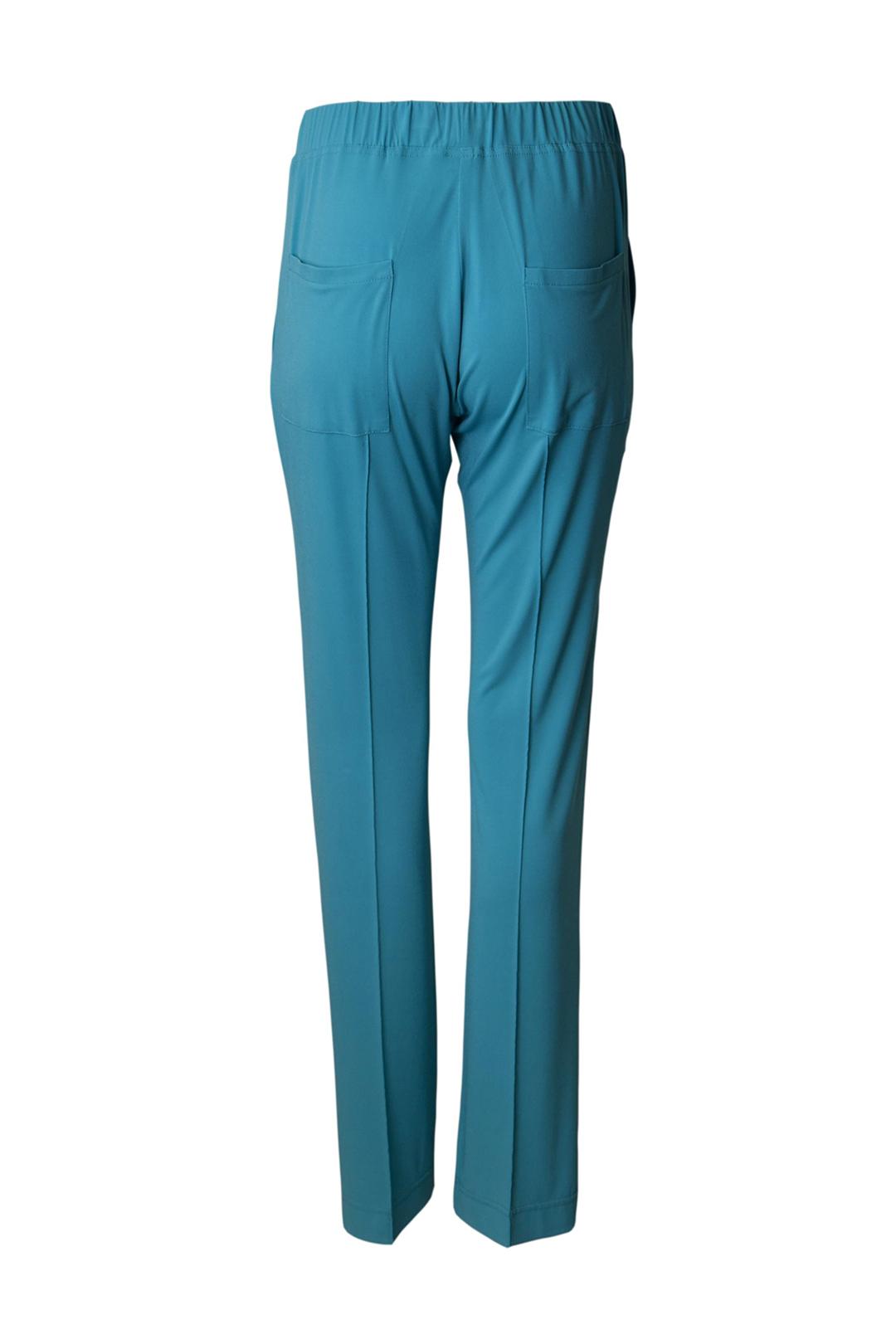 Jogger-Pants, Doppeljersey mit Logo & Kordelzügen
