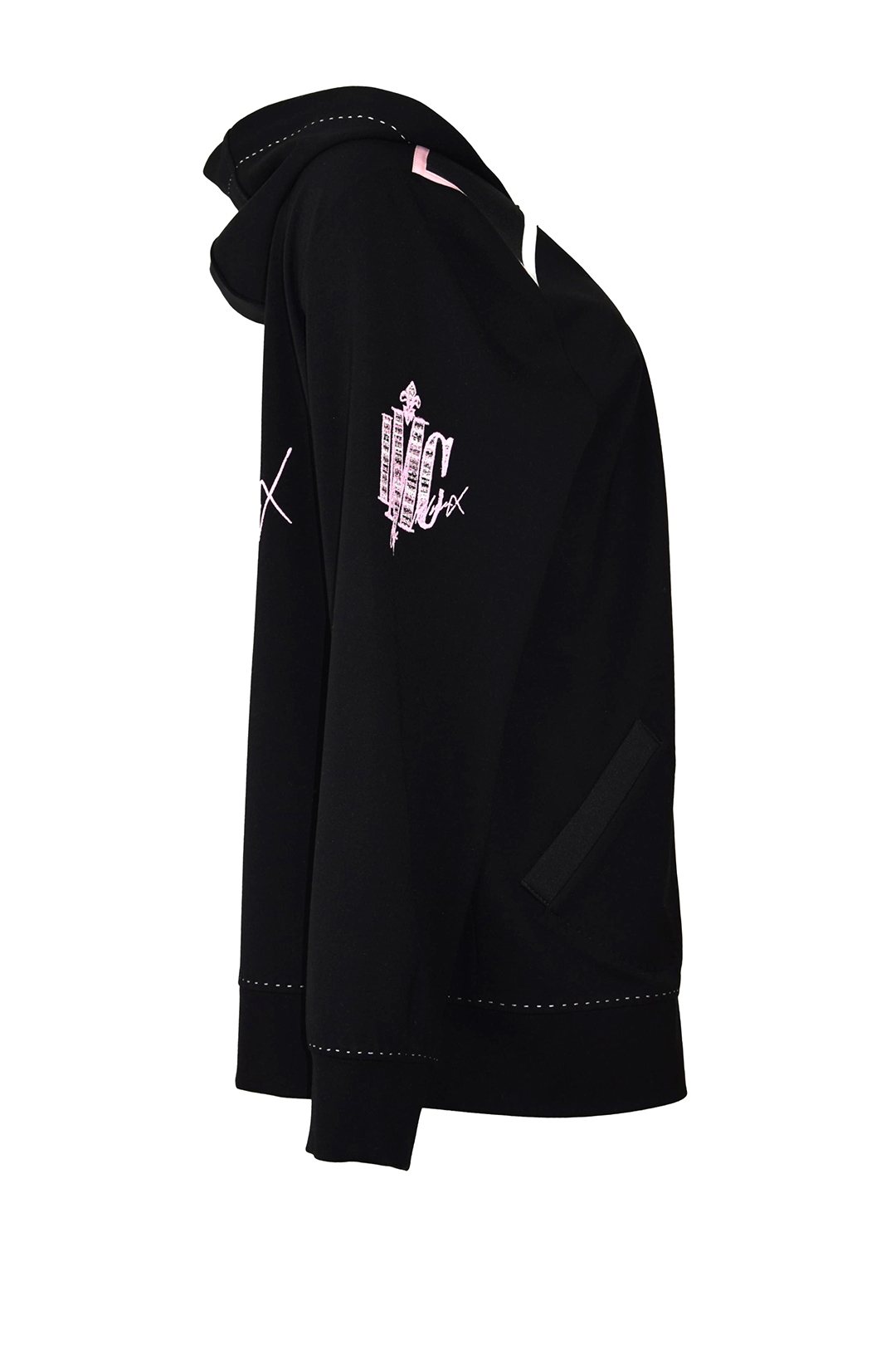 "Blouson mit ""LMC-bouclé-embroidery"", schwarz"