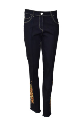 """Jeans mit """"autumn-colors-embroidery"""""""