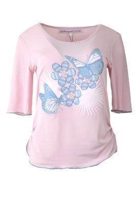 "Shirt mit ""natur-embroidery"", Kurzarm"
