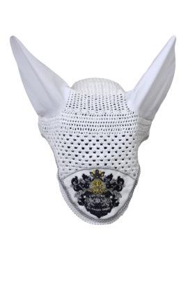 "Fliegenmütze mit ""Liz Malraux Horses-embroidery"""