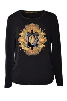 """Amirage Shirt mit Lack und """"amirage-embroidery, Langarm"""