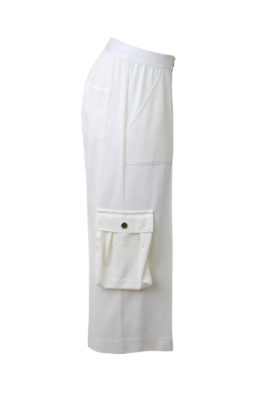 Cargohose mit Trekkingtaschen, mit elastischen Bund in 7/8 Länge, Georgette