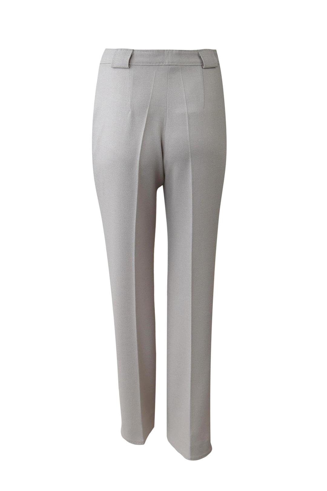 Hose mit Taschen und Bündchen, extra breiten Gürtelschaufen, Elastikgeorgette