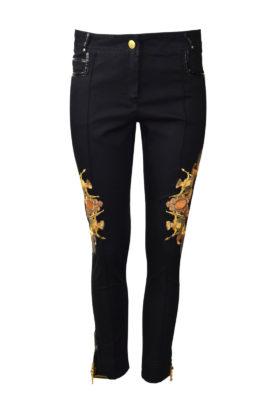 """Amirage Jeans mit Goldbeschlägen und """"amirage-embroidery"""", Baumwolle & Lycra"""