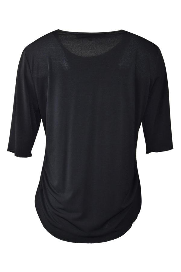 "Shirt mit ""new-still-life ""embroidery, Kurzarm"
