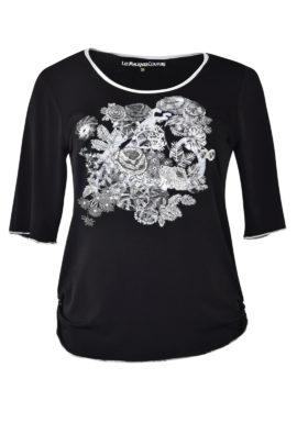 "Shirt mit ""frey style-embroidery"", Kurzarm"